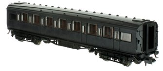 Maunsell High Window TK Coach Lined Olive Green 1122
