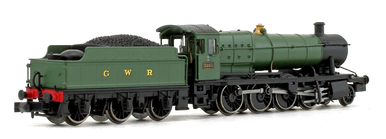 Class 28xx GWR Green 2-8-0 Steam Locomotive #3803
