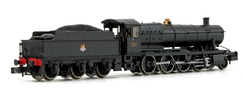 Class 38xx BR Black (Early Emblem) 2-8-0 Steam Locomotive No.3846