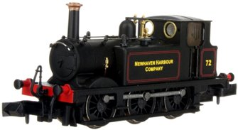 Terrier A1X No.72 Newhaven Harbour Company Lined Black