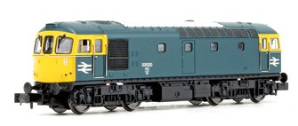 Class 33/0 33020 BR Blue Diesel Locomotive DCC FITTED