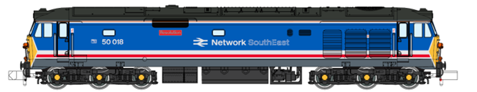 Class 50 Resolution 50018 Late NSE Refurbished