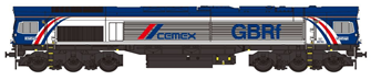 Class 66 66780 GBRf Cemex Diesel Locomotive DCC Fitted