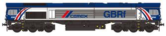 Class 66 66780 GBRf Cemex Diesel Locomotive