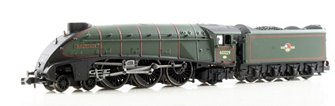 "Class A4 steam locomotive 60029 ""Woodcock"" in BR green with late crest. DCC Fitted"