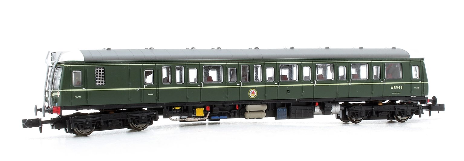 Class 121 W55033 BR Green Speed Whiskers - DCC Fitted