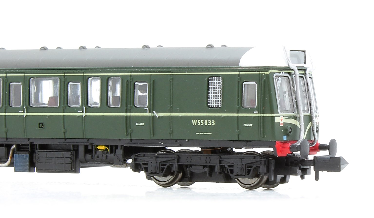 Class 121 W55033 BR Green Speed Whiskers