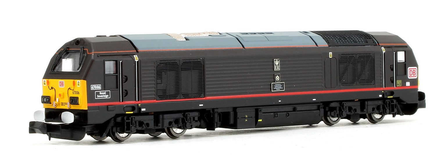 Class 67 006 'Royal Sovereign' DB Diesel Locomotive - DCC Fitted