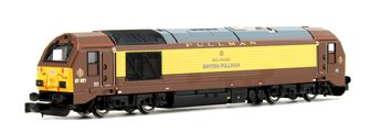 Class 67 021 Belmond British Pullman Diesel Locomotive DCC Fitted