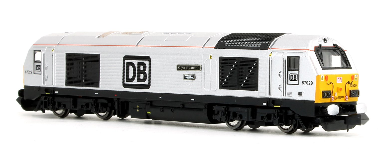 Class 67 029 'Royal Diamond' DB Diesel Locomotive