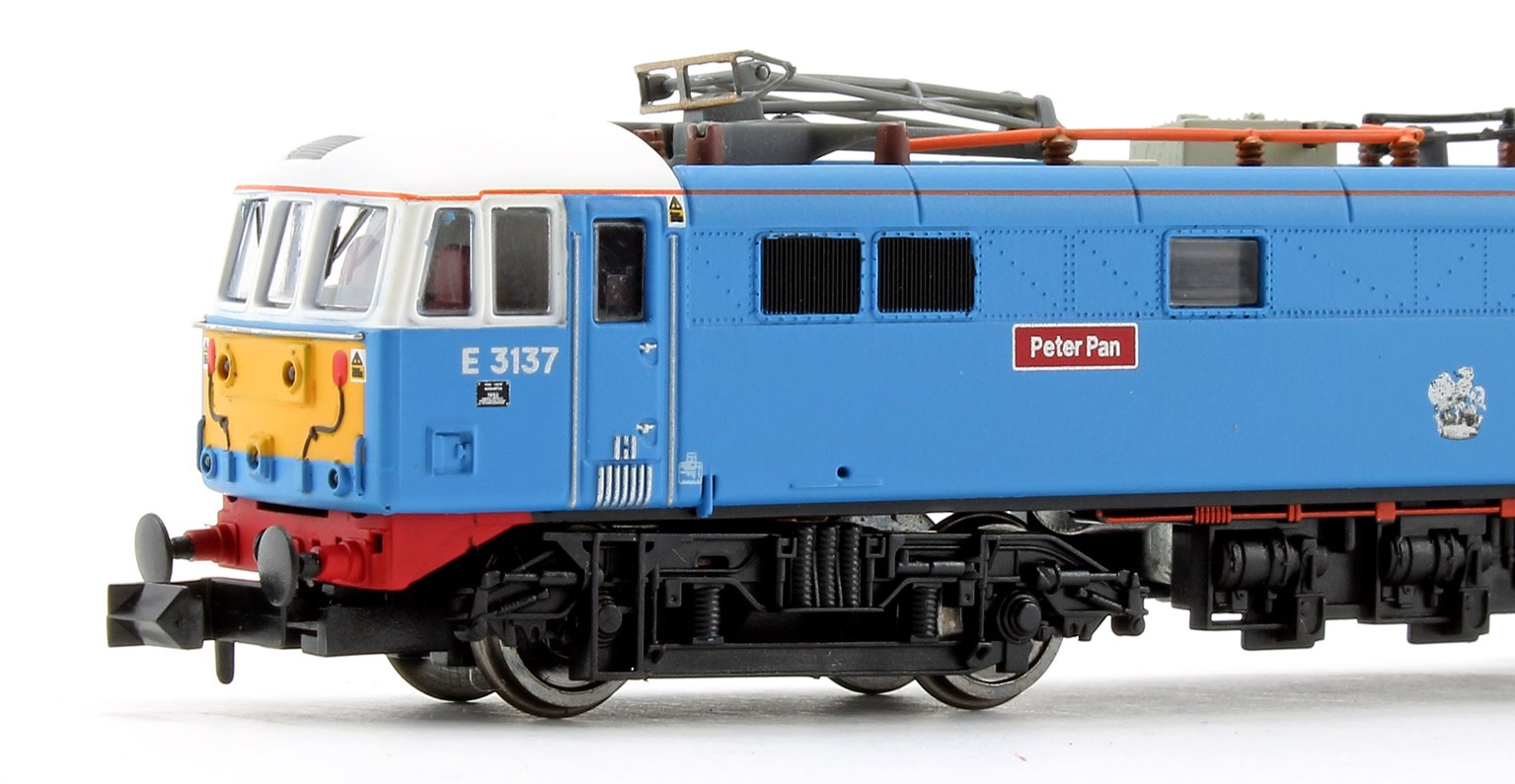 Class 86 Les Ross/Peter Pan 86259/E3137 Blue SYP Electric Locomotive