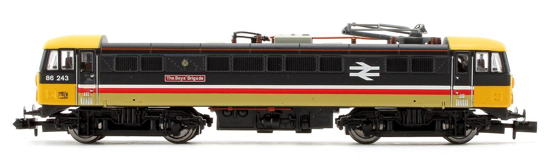 Class 86 243 The Boys Brigade BR Intercity Executive Electric Locomotive