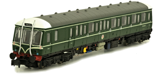 Class 122 E55012 BR Green with Whiskers (Preserved) DCC Fitted