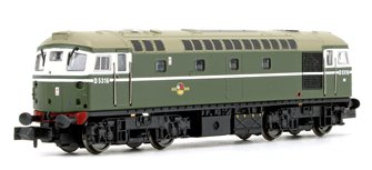 Class 26 - D5316 BR Green with Headcode Diesel Locomotive DCC FITTED