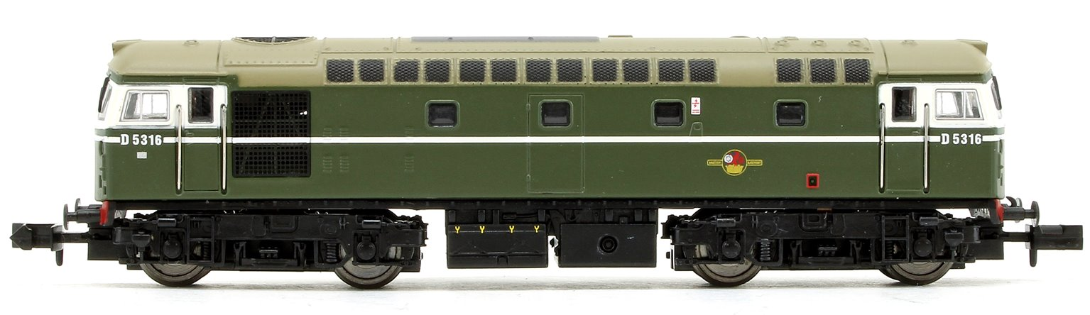 Class 26 - D5316 BR Green with Headcode Diesel Locomotive