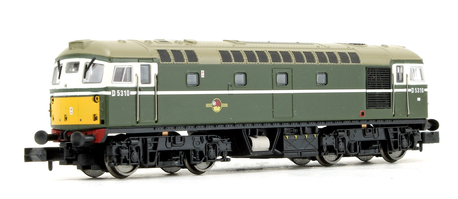 Class 26 - D5310 BR Green SYP (Preserved) Diesel Locomotive DCC FITTED
