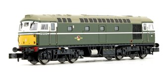 Class 26 - D5310 BR Green SYP (Preserved) Diesel Locomotive