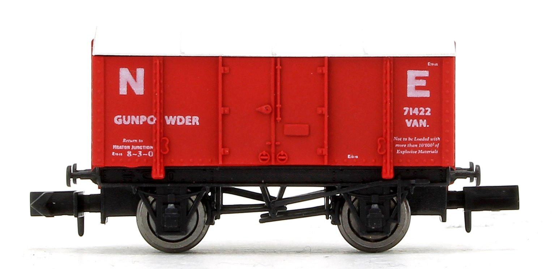 NE Red Gunpowder Van No.71422 - N gauge