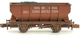 21T Hopper House Coal Concentration - Weathered