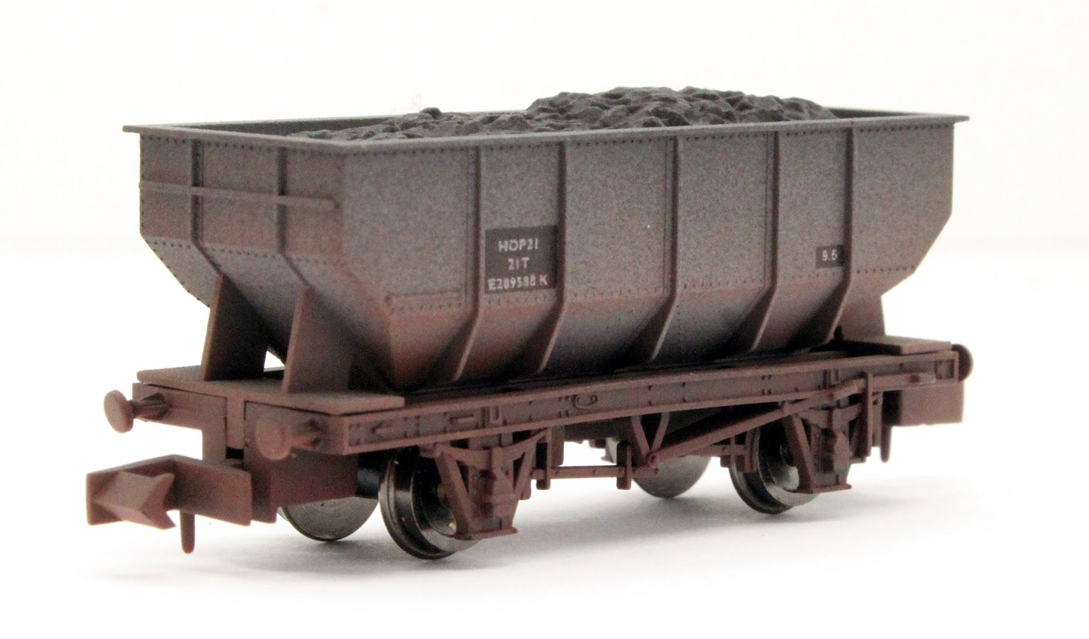 21t Hopper BR E289588 Weathered