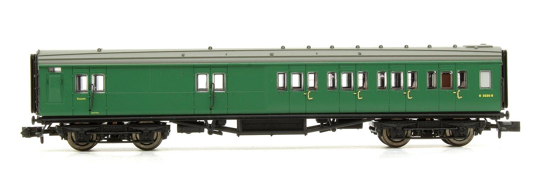 Maunsell Coach BR Brake 3rd Class SR Green 3220