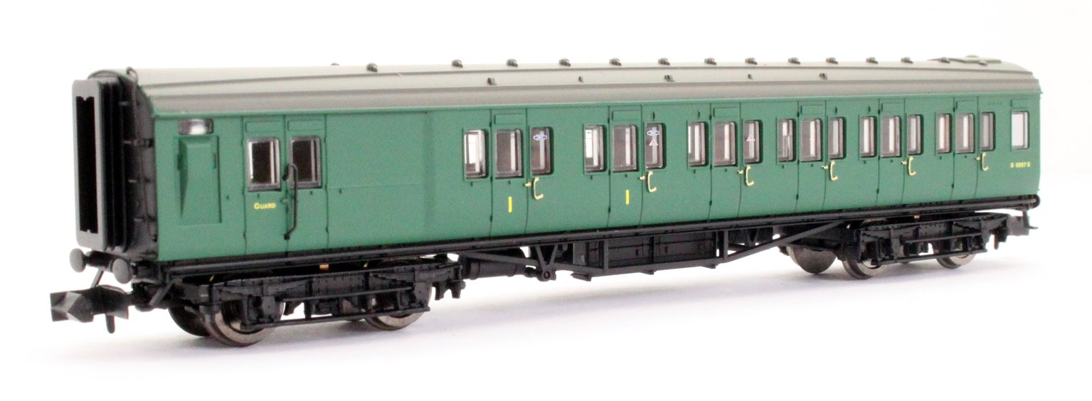 Maunsell Coach BR Brake Composite SR Green 6567
