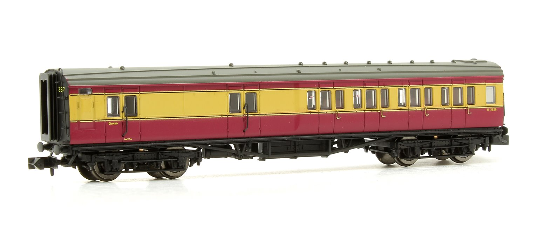 Maunsell Coach BR Brake 3rd Class Crimson/Cream 3226
