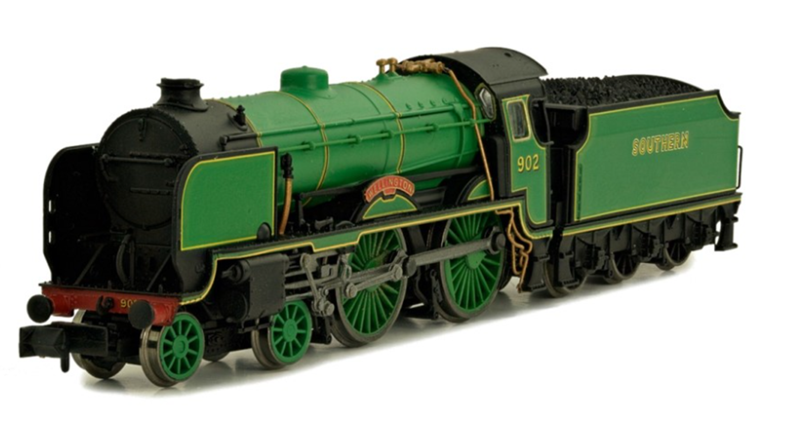 'Clifton' Southern Malachite Lined Schools Class 4-4-0 Steam Locomotive No.927 DCC FITTED
