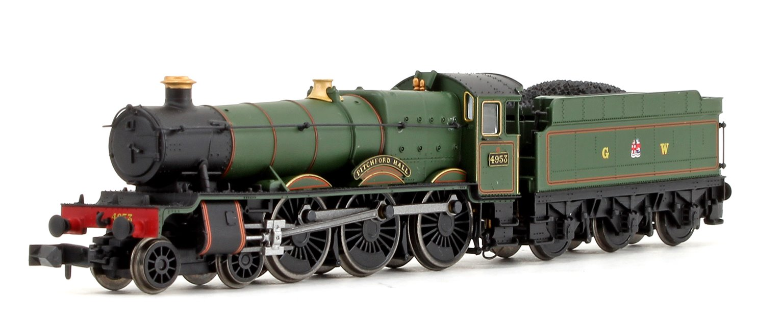 'Pitchford Hall' GWR Green (Crest Livery) 4-6-0 Steam Locomotive No.4953