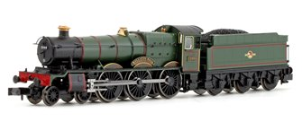 Wollaton Hall BR Lined Green Late Crest 4-6-0 Steam Locomotive No.5999