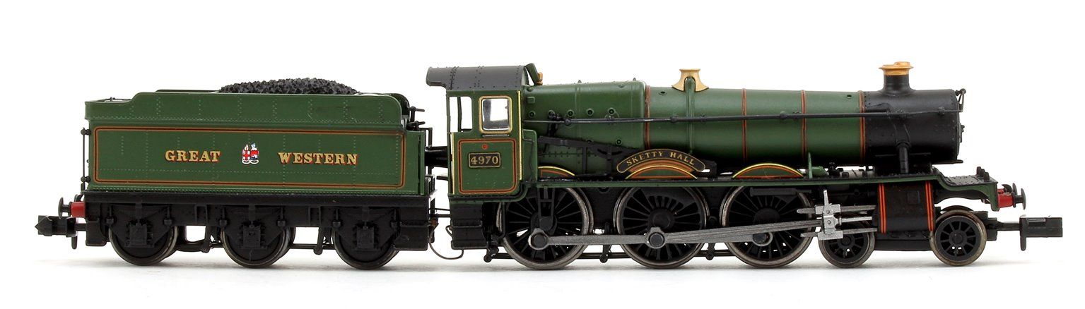 'Sketty Hall' Grest Western Lined Green 4-6-0 Steam Locomotive No.4970 - DCC FITTED