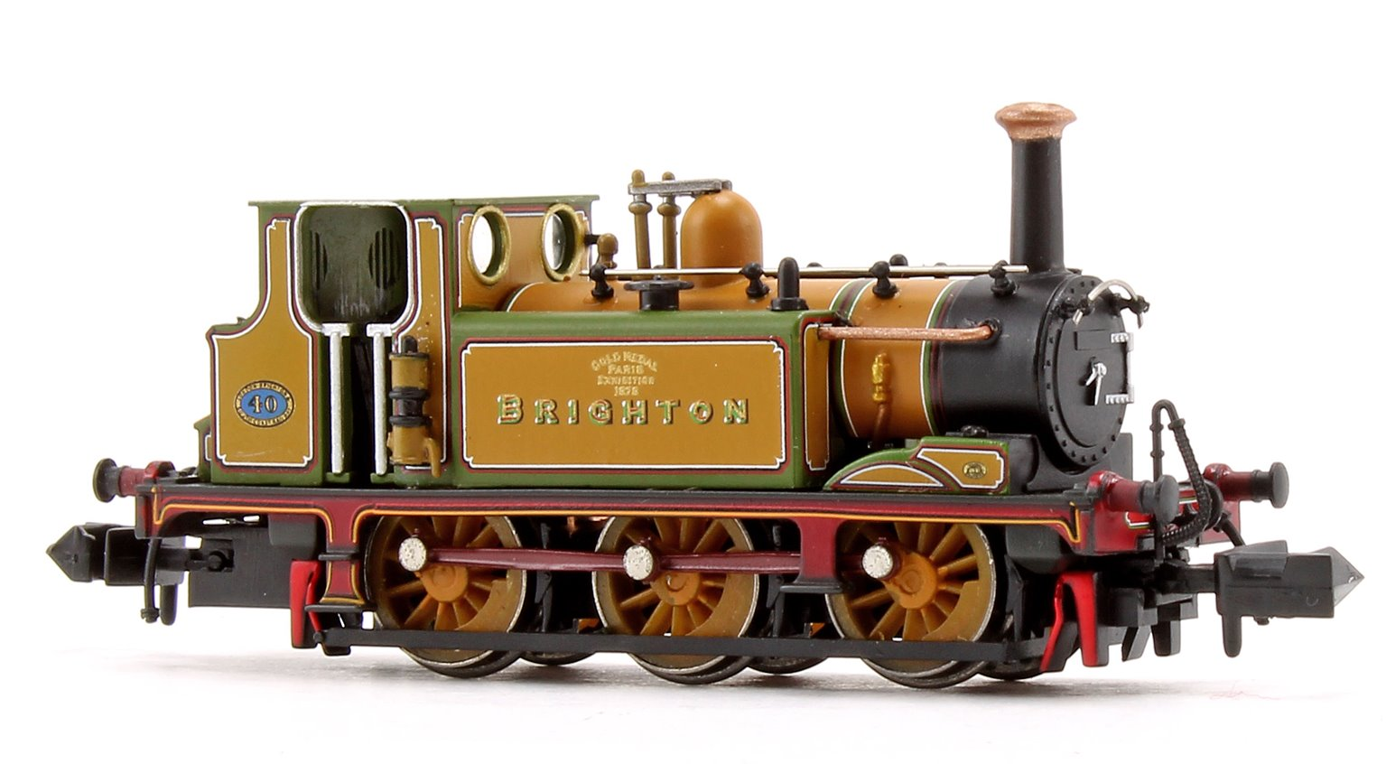 Terrier A1 'Brighton Gold' LBSC Stroudley Improved Green Locomotive