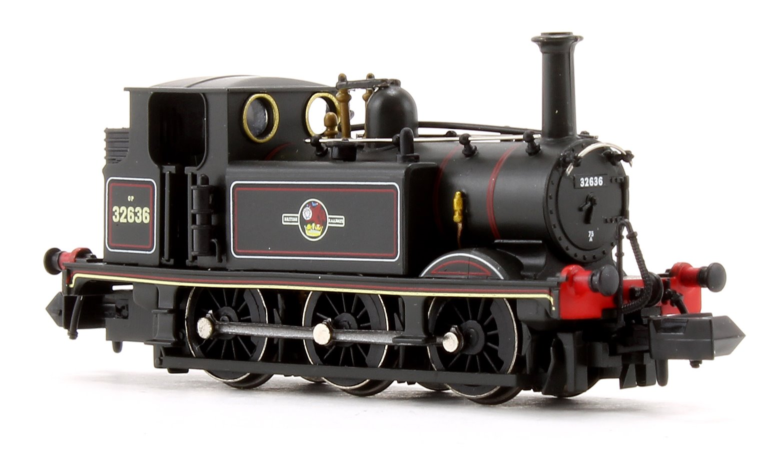 Terrier A1X BR Lined Black Late Crest Locomotive No.32636