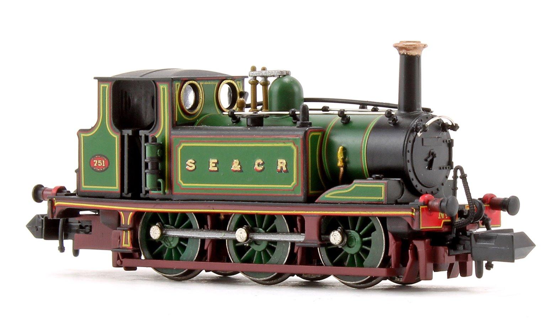 Terrier A1 SECR Green Locomotive No.751