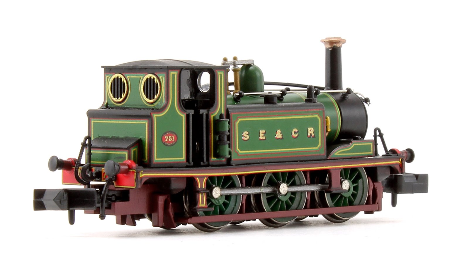 Terrier A1 SECR Green Locomotive No.751