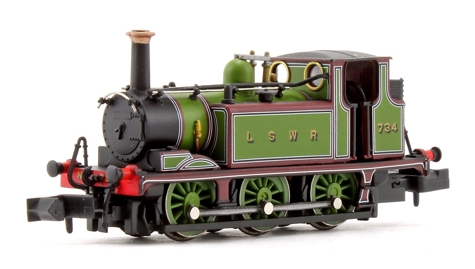 Terrier A1 LSWR Green Locomotive No.734