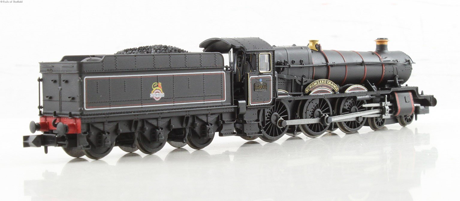 """Class 6800 4-6-0 6809 """"Burchlere Grange"""" in BR lined black with early emblem. DCC Fitted"""