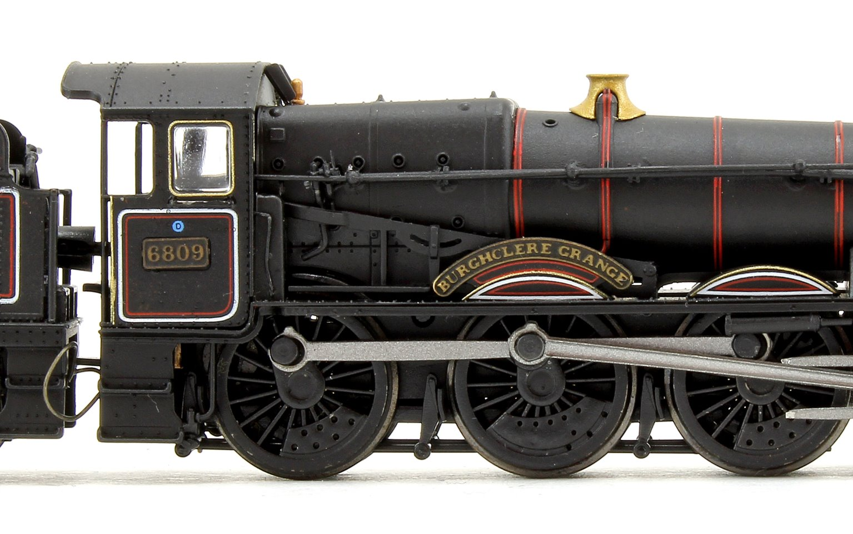 'Burghclere Grange' Grange Class 6800 BR Lined Black (Early Crest) 4-6-0 Steam Locomotive No.6809