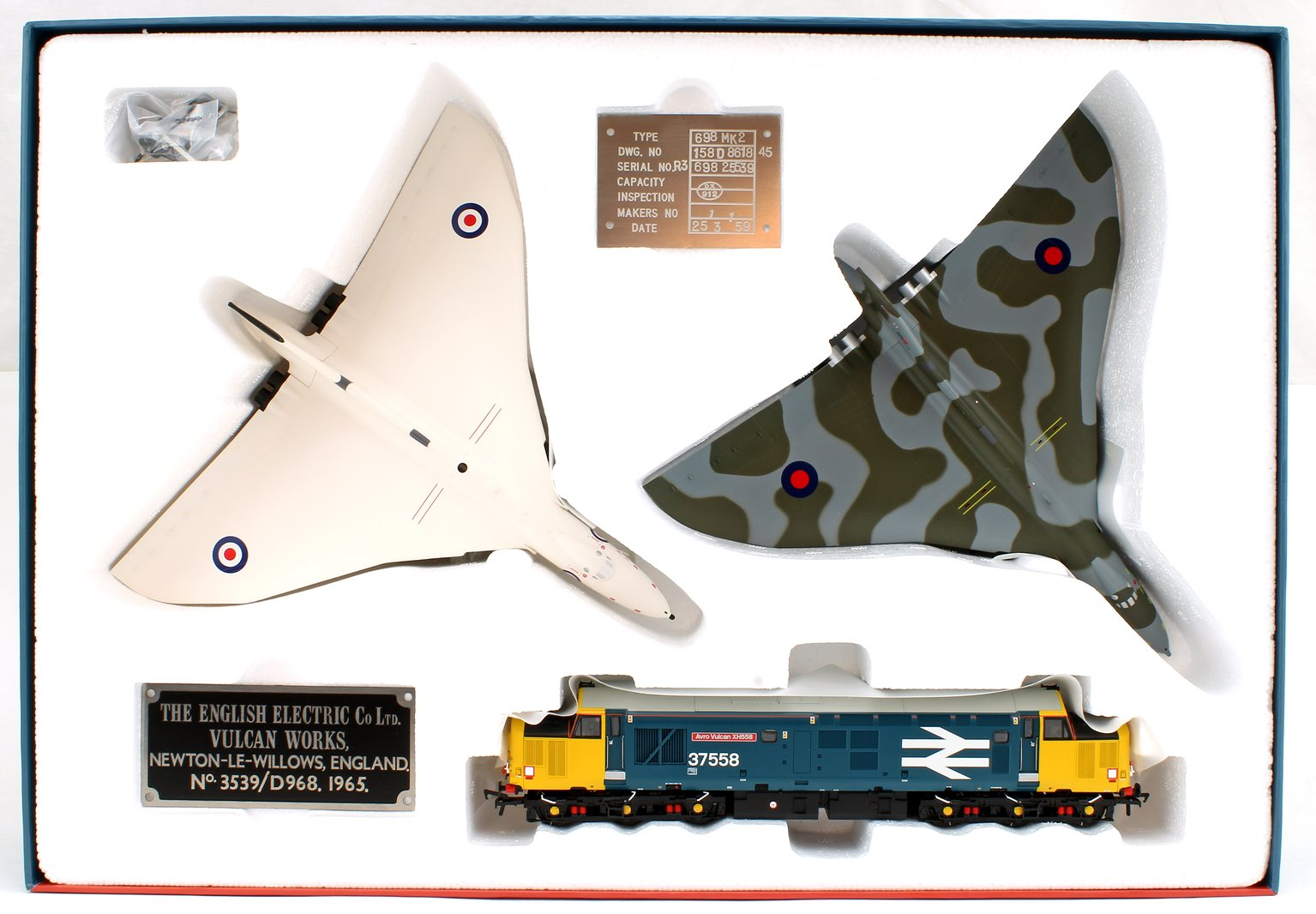"Avro Vulcan XH558 ""The Spirit of Great Britain"" Collector's Pack"