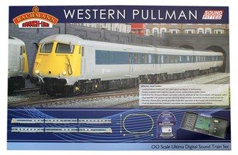 Western Pullman Dynamis Ultima Digital Sound Train Set in Grey/Blue British Rail Pullman livery