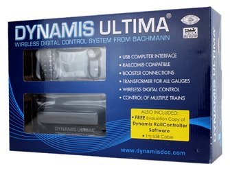 Dynamis Ultima DCC System with Evaluation RailController Software (ex30-420)