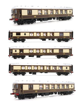 'Brighton Belle' 5 Car Pullman Car Set