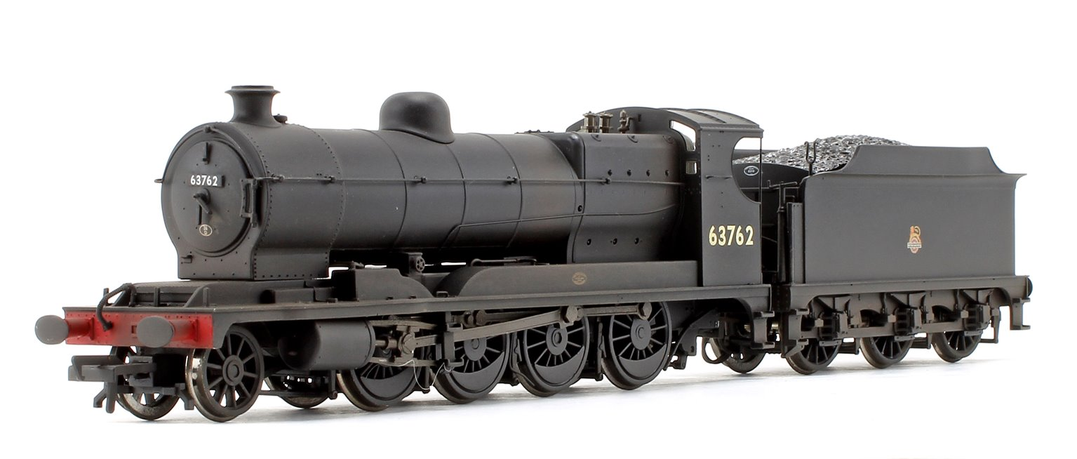 Robinson Class O4 63762 BR Black Early Emblem Weathered