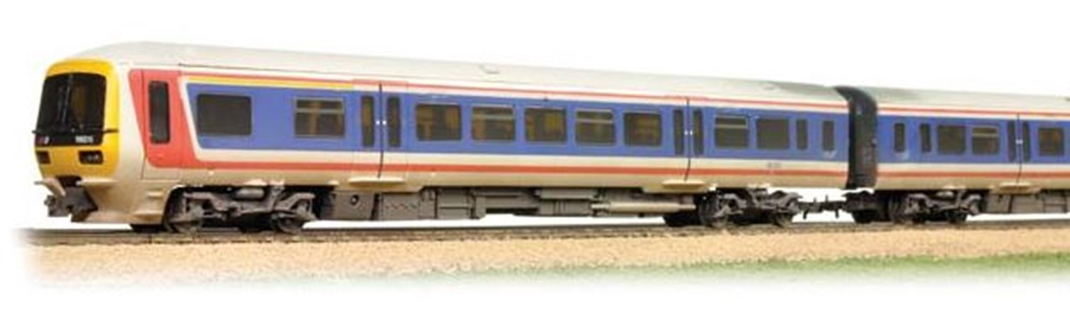 Class 166 Networker 3 Car DMU #166216 Network South East - Weathered - FREE UK POST