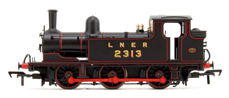 LNER J72 Class LNER Lined Black 0-6-0 Tank Locomotive No.2313