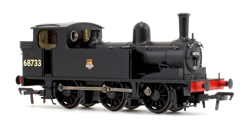 LNER J72 Class BR Black Early Emblem 0-6-0 Tank Locomotive No.68733