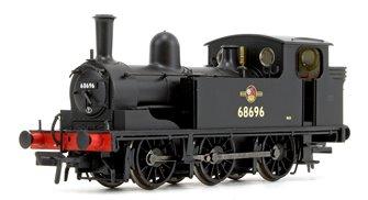 LNER J72 Class BR Black Late Crest 0-6-0 Tank Locomotive No. 68696