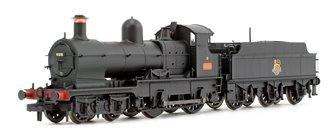 32xx / 3200 Earl Class 'Dukedog' BR Black Early Emblem 4-4-0 Steam Locomotive No. 9018 (Weathered Edition)