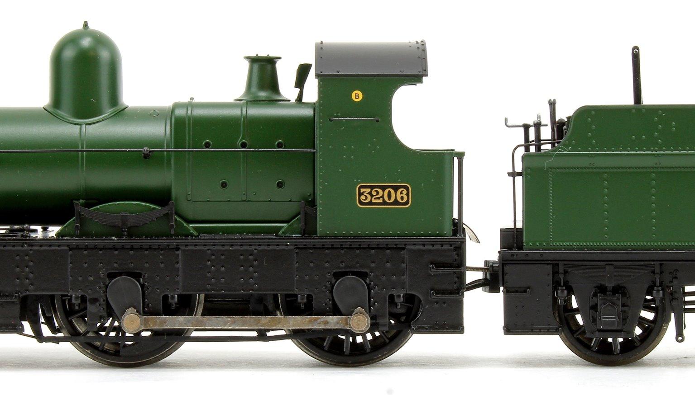 "32xx / 3200 Earl Class Dukedog ""Earl of Plymouth"" GWR Green 4-4-0 Steam Locomotive No. 3206 DCC Sound"