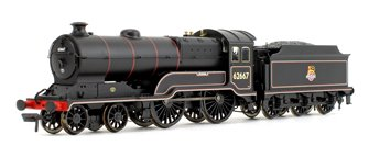 GCR Class 11F (D11/1) 'Somme' BR Lined Black Early Emblem 4-4-0 Steam Locomotive No.62667